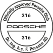 Officially approved Porsche Club 316